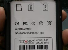 Titanic T-70 Flash File