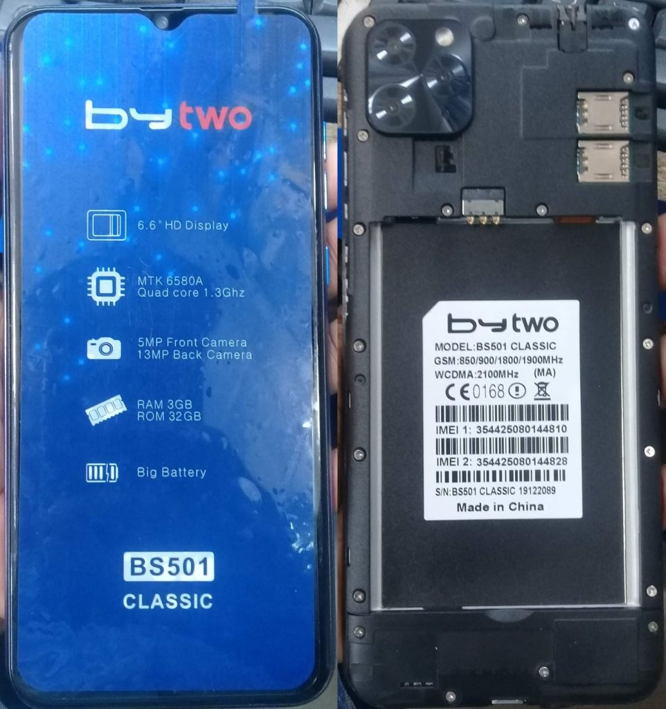 Bytwo BS501 Classic Firmware