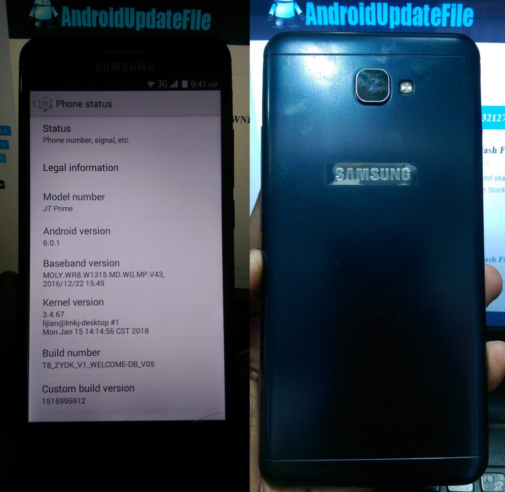 Samsung Clone J7 Prime Flash File