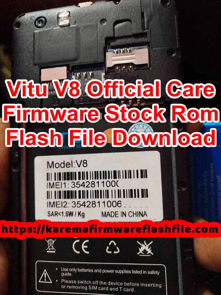 ViTU V8 Flash File Best Care Firmware