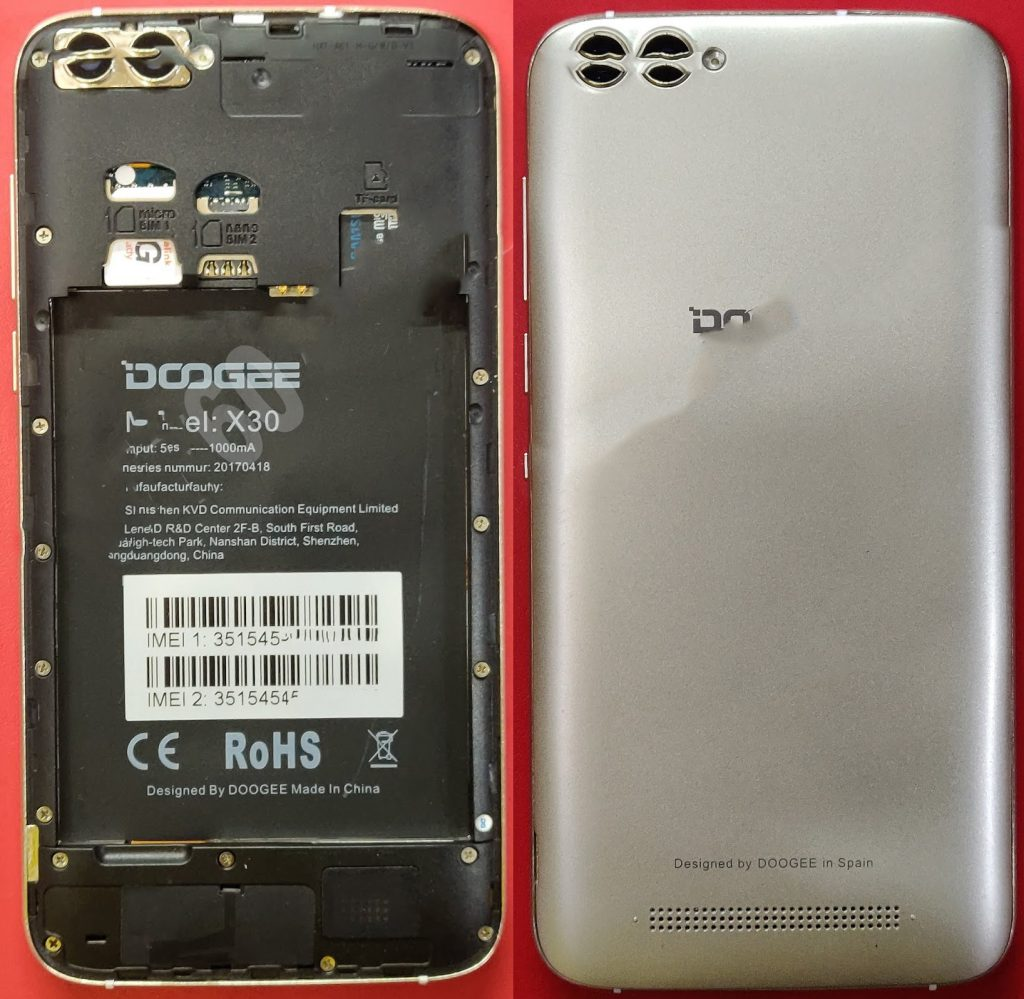 Doogee X30 Flash File Best Firmware