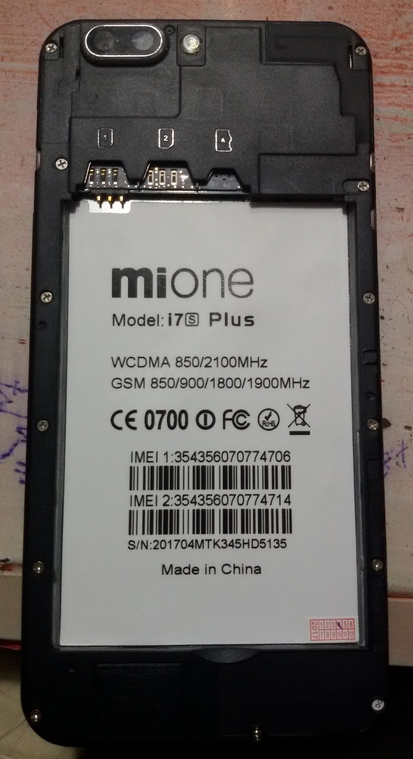 Mione i7s Plus Firmware