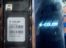 S Color Note 8 firmware