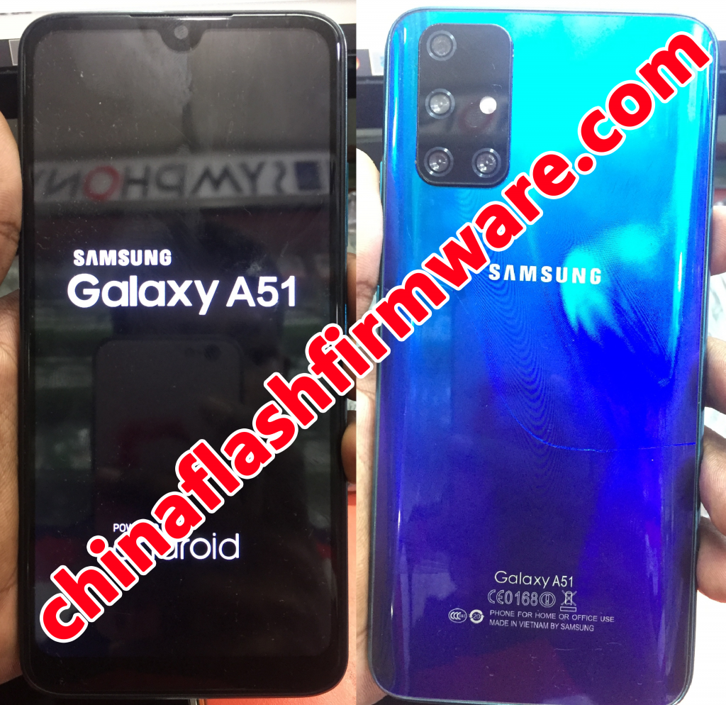 Samsung Clone A51 flash file