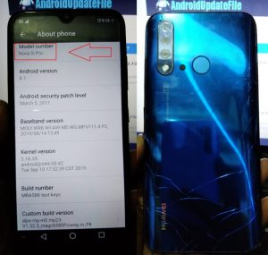 Huawei Clone Nova 5i Pro flash file