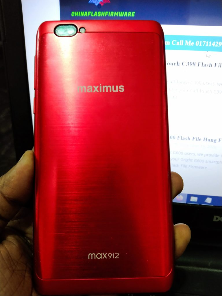 Maximus Max 912 flash file