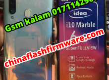 idea i10 Marble flash file