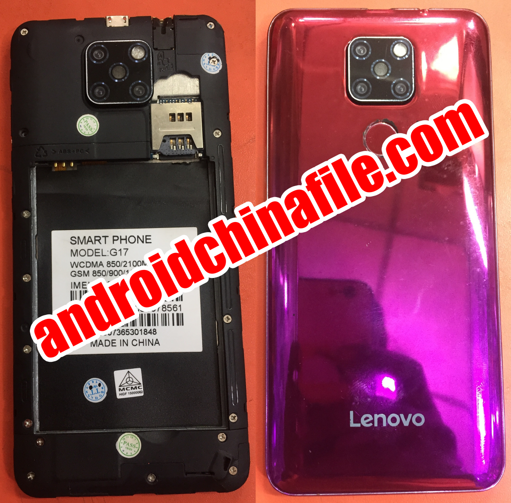 Lenovo Clone G17 flash file