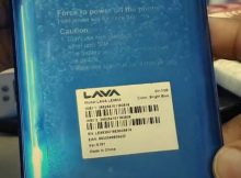 Lava R5V LE9830 flash file