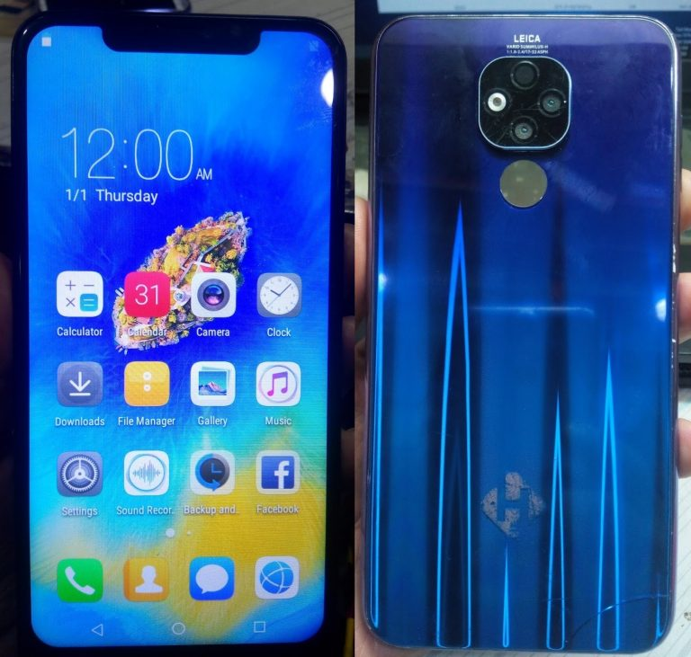Huawei Clone Mate 20 X Flash File
