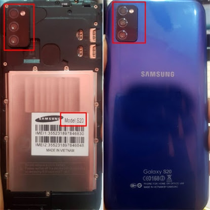 Samsung Clone S20 flash file
