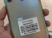 Titanic Note 2 flash file