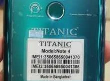Titanic Note 4 flash file