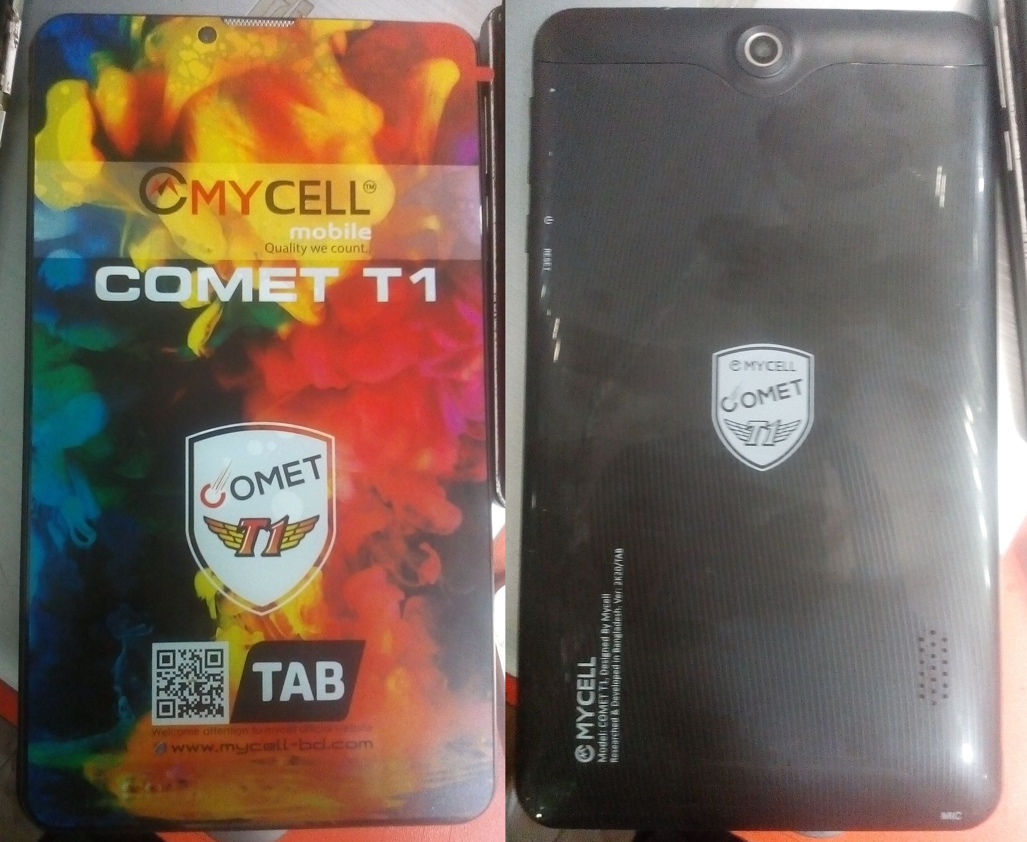 Mycell Comte T1 flash file