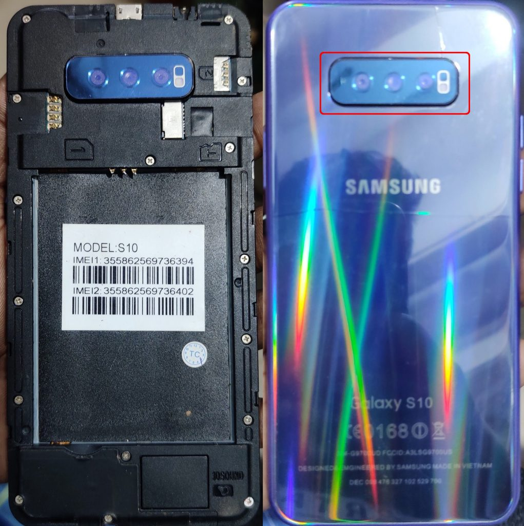 Samsung Clone S10 Lite flash file