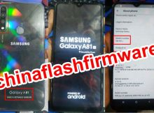 Samsung Clone A81 20 flash file