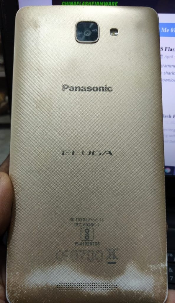 Panasonic Eluga I3 flash file