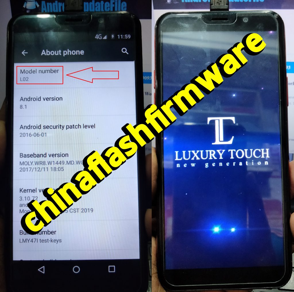 Luxury Touch L03 Flash File