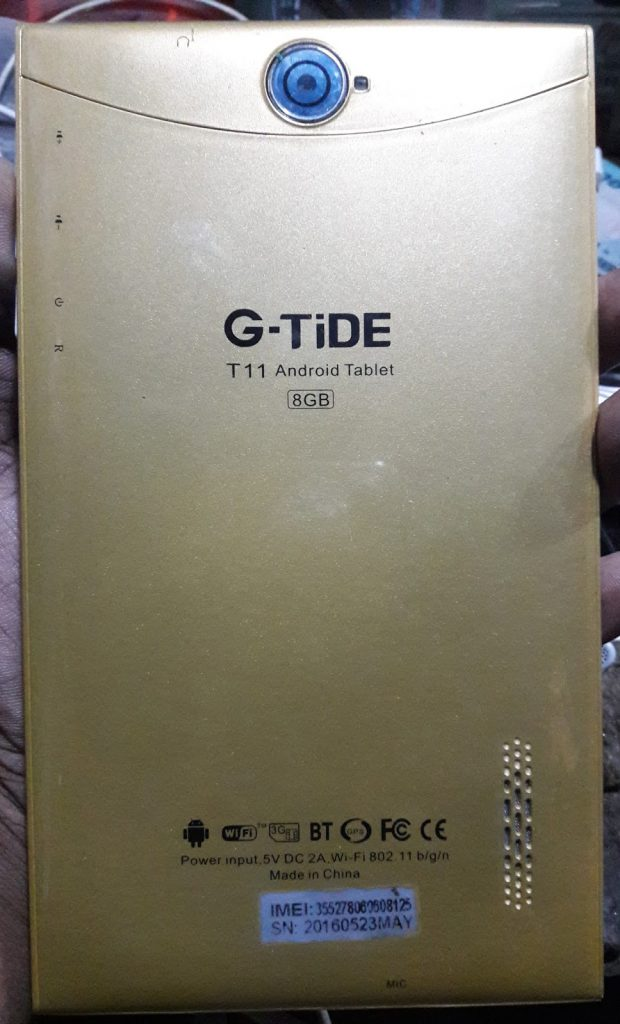 G-TiDE T11 3G Table