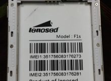 Lenosed F1s Flash File